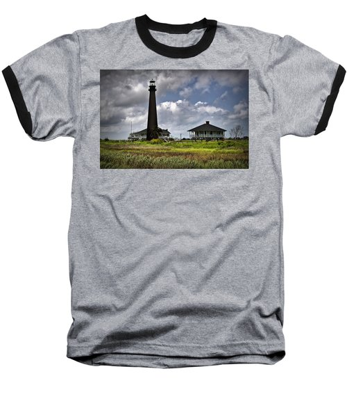 The Bolivar Lighthouse Baseball T-Shirt