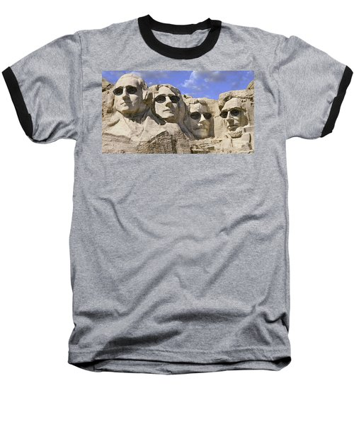 The Boys Of Summer 2 Panoramic Baseball T-Shirt by Mike McGlothlen
