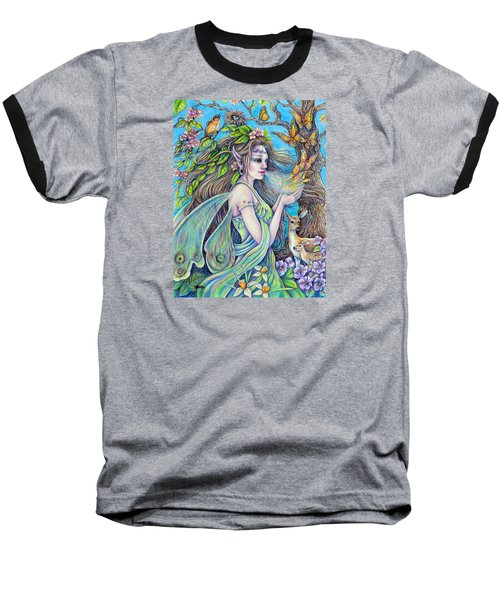 The Breath Of Spring Baseball T-Shirt by Gail Butler