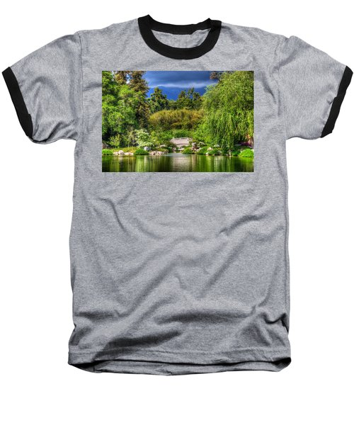 The Bridge 12 Baseball T-Shirt by Richard J Cassato