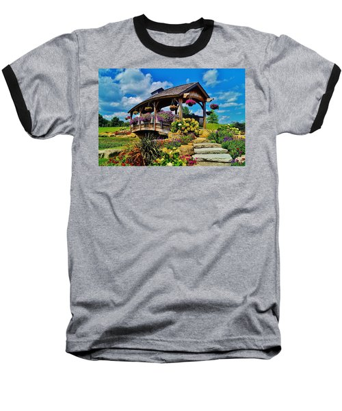 The Bridge 2 Baseball T-Shirt by Daniel Thompson