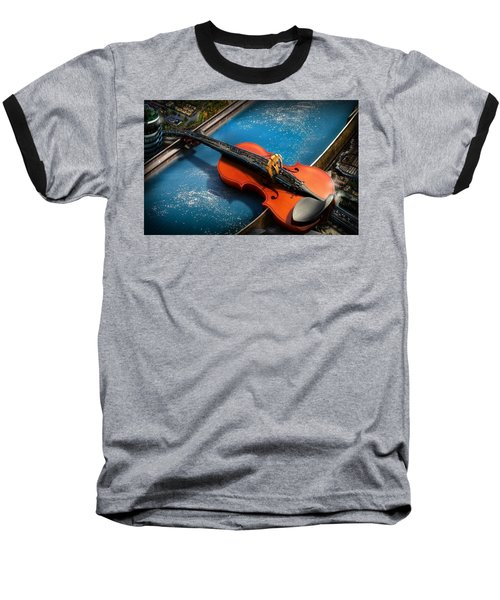 The Bridge Baseball T-Shirt by Alessandro Della Pietra