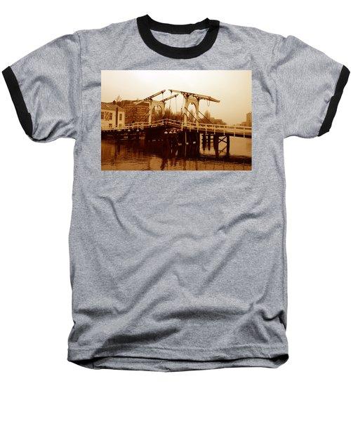 The Bridge Baseball T-Shirt by Menachem Ganon