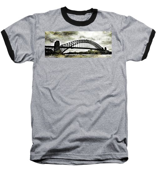 The Bridge Spattled Baseball T-Shirt