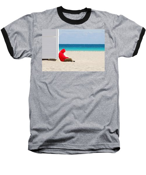 The Bright Side Baseball T-Shirt by Keith Armstrong