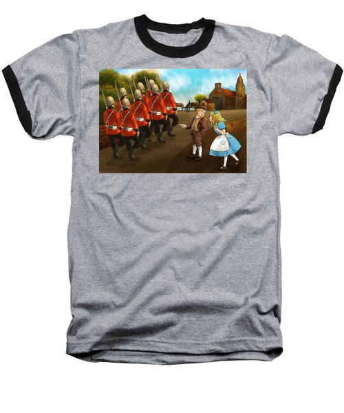 The British Soldiers Baseball T-Shirt by Reynold Jay