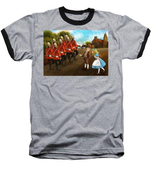 The British Soldiers Baseball T-Shirt