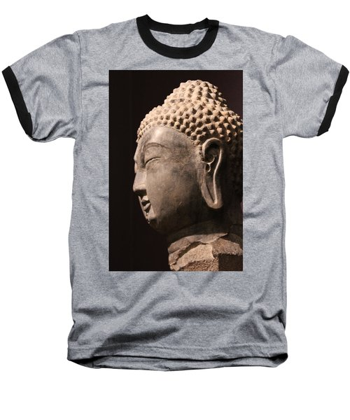 Baseball T-Shirt featuring the photograph The Buddha 2 by Lynn Sprowl