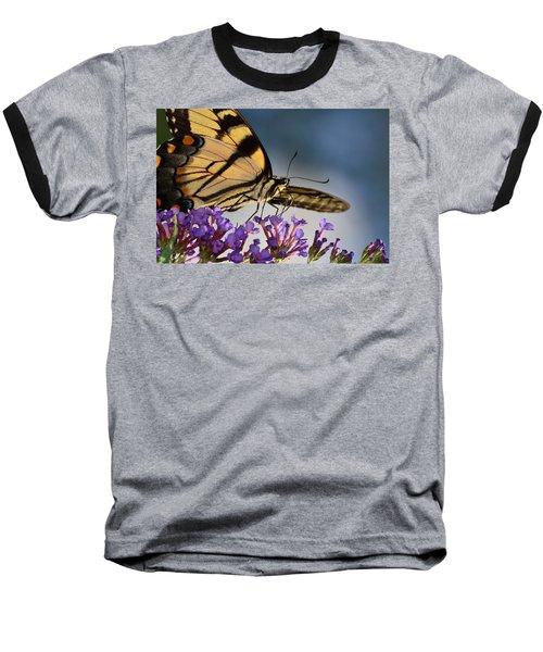 The Butterfly Baseball T-Shirt by Lori Tambakis