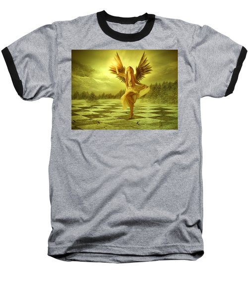 Baseball T-Shirt featuring the photograph The Calling by Ester  Rogers