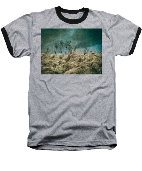 The Calm In The Storm II Baseball T-Shirt by Jessica Brawley