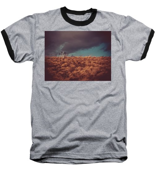 The Calm In The Storm Baseball T-Shirt by Jessica Brawley