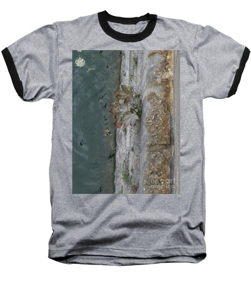 The Canal Water Baseball T-Shirt by Brenda Brown
