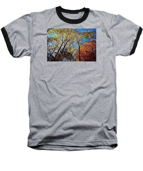 Baseball T-Shirt featuring the photograph The Canopy by Daniel Thompson