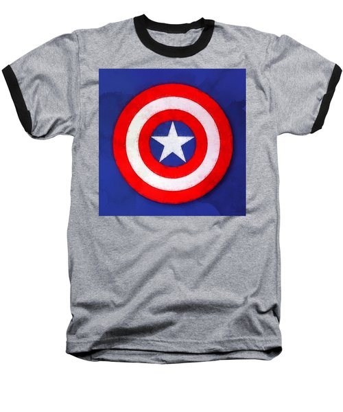 The Captain's Shield Baseball T-Shirt