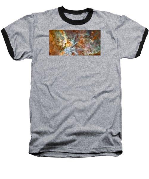 The Carina Nebula Baseball T-Shirt by Nasa