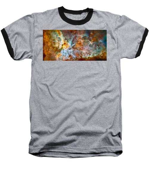 The Carina Nebula - Star Birth In The Extreme Baseball T-Shirt by Marco Oliveira