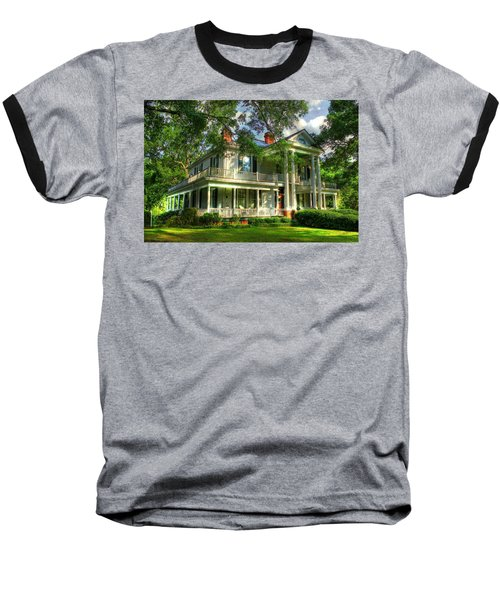 A Southern Bell The Carlton Home Art Southern Antebellum Art Baseball T-Shirt