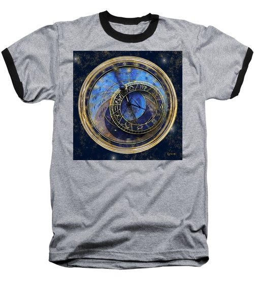 The Carousel Of Time Baseball T-Shirt