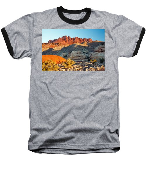 The Castle Capitol Reef National Park Baseball T-Shirt