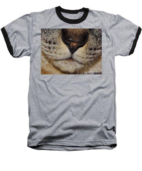 The - Cat - Nose Baseball T-Shirt