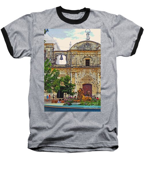 The Cathedral Of Leon Baseball T-Shirt