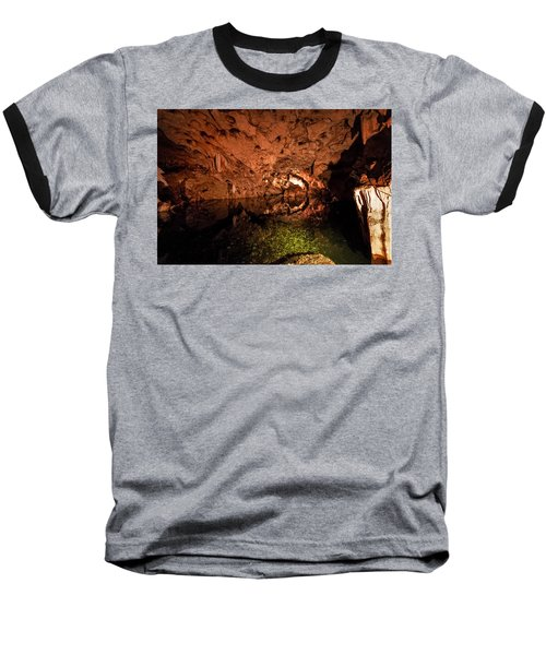 The Cave Baseball T-Shirt by Bill Howard