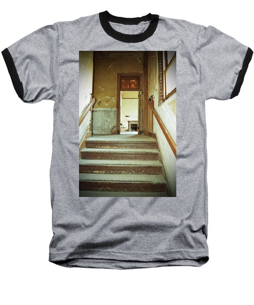 The Chair At The Top Of The Stairs Baseball T-Shirt