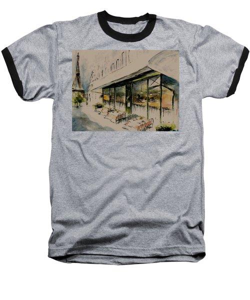 The Champs Elysees Baseball T-Shirt