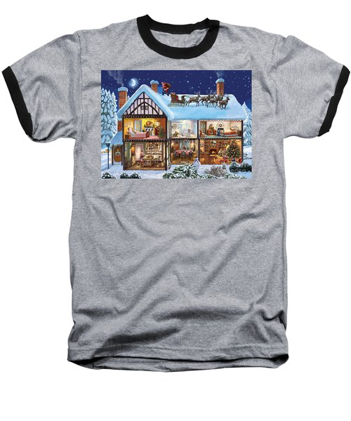 Christmas House Baseball T-Shirt
