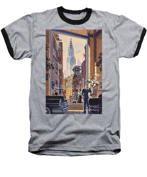 The Chrysler Baseball T-Shirt by Michael Young