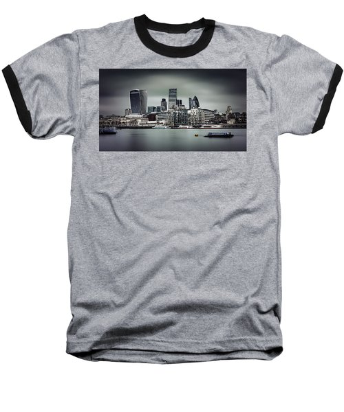 The City Of London Baseball T-Shirt