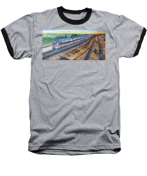 The City Of New Orleans Baseball T-Shirt by Bryan Bustard