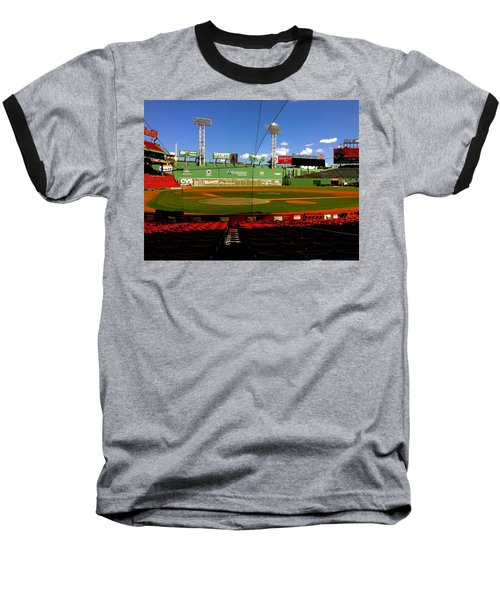 Baseball T-Shirt featuring the photograph The Classic  Fenway Park by Iconic Images Art Gallery David Pucciarelli