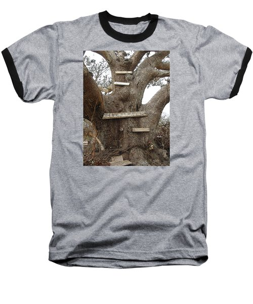 The Climbing Tree - Hurricane Katrina Survivor Baseball T-Shirt