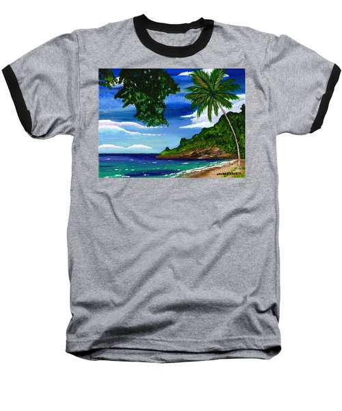 The Coconut Tree Baseball T-Shirt