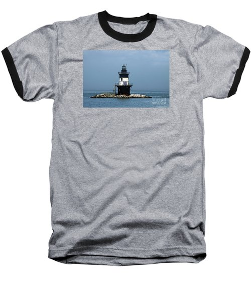The Coffee Pot Lighthouse Baseball T-Shirt by Christiane Schulze Art And Photography