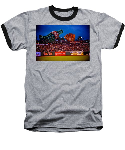 The Coke And Glove Baseball T-Shirt