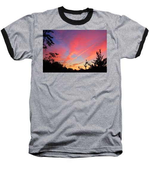 Baseball T-Shirt featuring the photograph The Color Gets Good by Kathryn Meyer