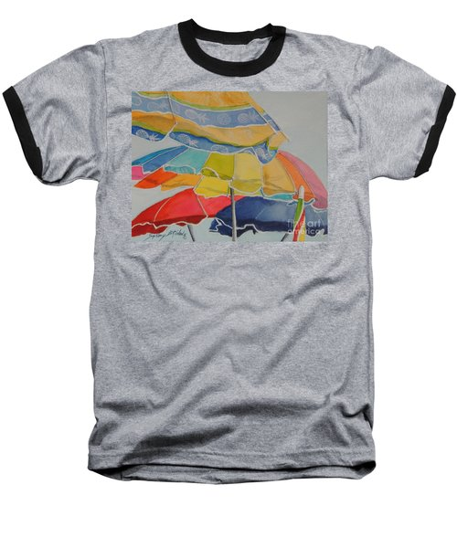 The Colors Of Fun.  Sold Baseball T-Shirt
