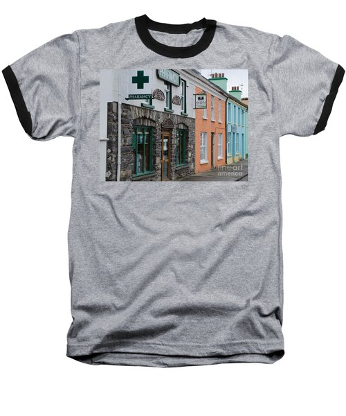 The Colors Of Sneem Baseball T-Shirt by Mary Carol Story