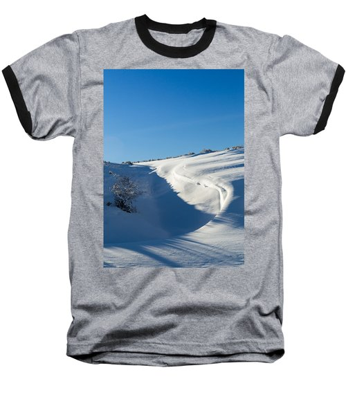 The Colors Of Snow Baseball T-Shirt