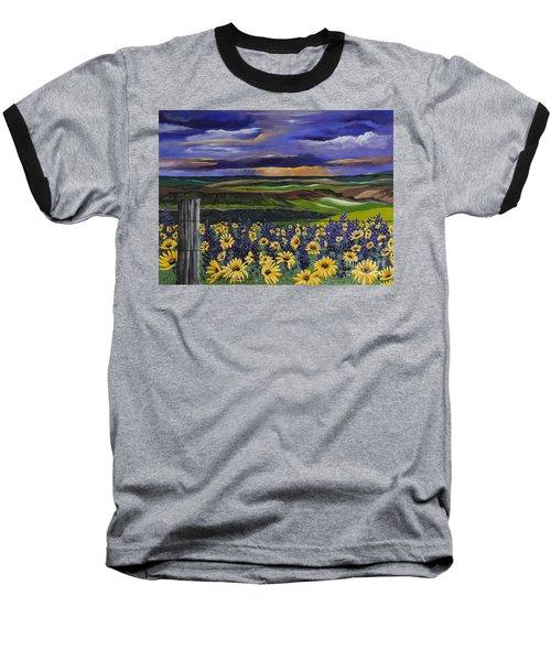 The Colors Of The Plateau Baseball T-Shirt