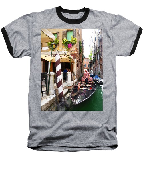 The Colors Of Venice Baseball T-Shirt