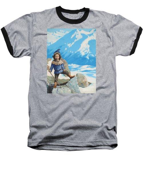 The Conquerer. Baseball T-Shirt by Vivien Rhyan