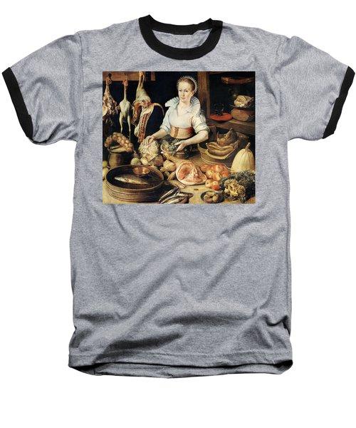 The Cook Baseball T-Shirt by Pieter Cornelisz van Rijck