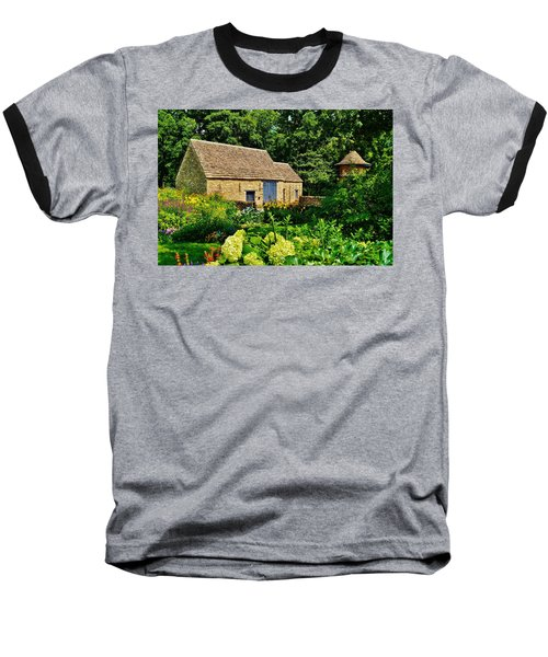 The Cotswald Barn And Dovecove Baseball T-Shirt