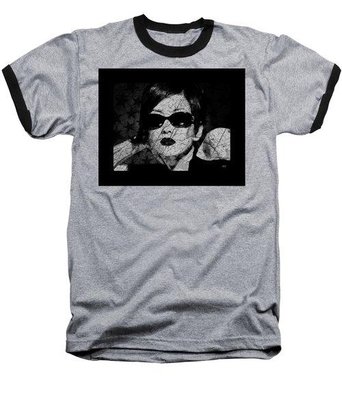 The Cracked Facade Baseball T-Shirt