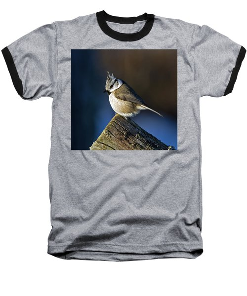The Crested Tit In The Sun Baseball T-Shirt