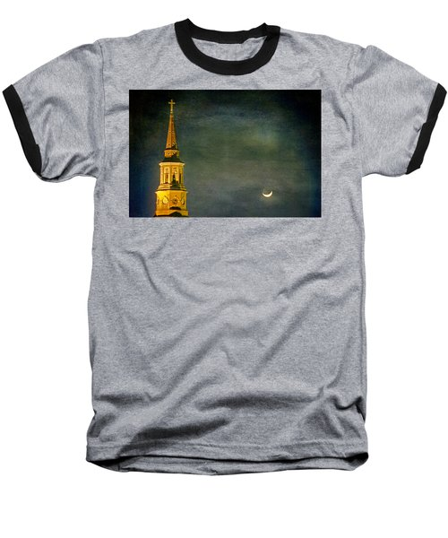 The Cross And The Crescent Baseball T-Shirt